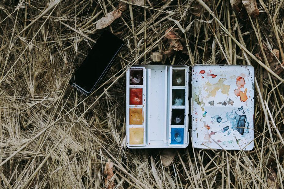 Travel Box im Feld